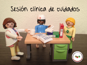 sesion clinica