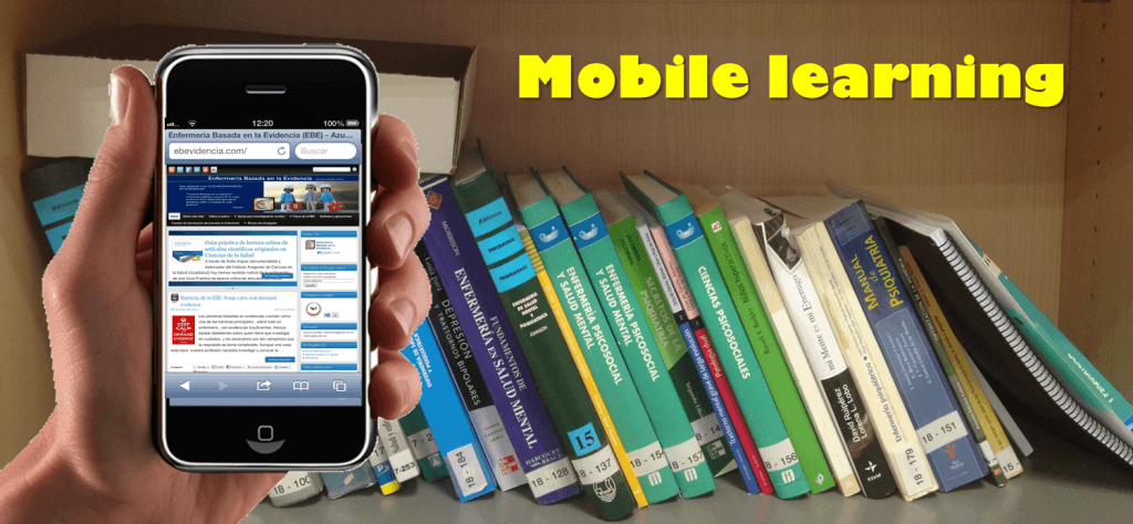 Mobile learning ebevidencia