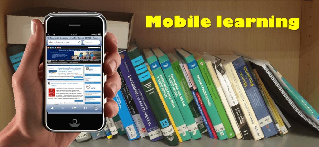 Mobile learning ebevidencia