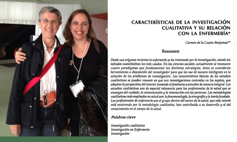 Carmen de la Cuesta y Azucena Santillán